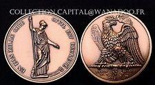 """Médaille Napoléon Code Civil """"Collection Impériale"""" Bronze MDP"""