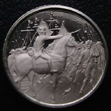 Franklin Mint Mini-Ingot: 1780 Washington Joined By French Army At Newport