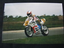 Photo Pepsi Suzuki RGV500 Gamma 1988 #10 Rob McElnea (GBR) Dutch TT Assen