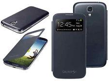 Flip S-view Smart Batería Funda Protectora Para Samsung Galaxy S4 I9500 I9505 Negro