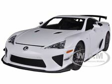 LEXUS LFA NURBÜRGRING PACKAGE WHITEST WHITE 1/18 DIECAST MODEL BY AUTOART 78837