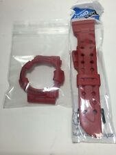 NEW CASIO G SHOCK GWF-1000RD-4 BURNING RED FROGMAN BAND/BEZEL FIT GWF/GF-1000