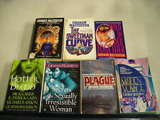 7 GRAHAM MASTERTON SECRETS TOGETHER BLOOD CURVE PLAGUE MIRROR VOYAGE pb lot