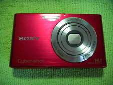 SONY CYBER-SHOT DSC-W330 14.1 MEGA PIXELS DIGITAL CAMERA RED