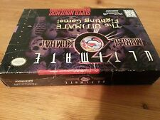 Ultimate Mortal Kombat 3 (Super Nintendo SNES Game) With Box
