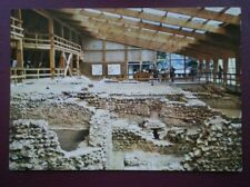 POSTCARD KENT LULLINGSTONE ROMAN VILLA - GENERAL VIEW