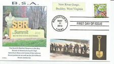 BSA  THE SUMMIT   BECHTEL RESERVE  WEST VIRGINIA     FDC- DWc Cachet