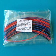 Heat Shrink Tubing 1.5 mm 4 Colours Heat Shrink Sleeve Wrap Tube Kit - HSK 2