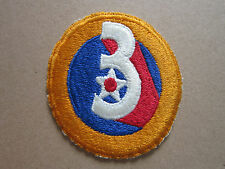 3rd Air Force USAF Woven Cloth Patch Badge