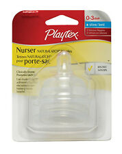 Playtex Drop-Ins NaturaLatch Silicone Nipple - Slow Flow - 4 Pack