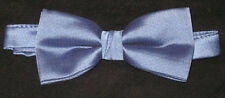 Lot of 10 Slate Blue New Mens Bow Ties Great for Singing Groups Bands Church