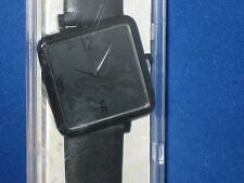 DISNEY PARKS Black Square Mickey Mouse WATCH for adults - NEW