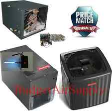 3 Ton 18 Seer 2 Stage Heat Pump HORIZONTAL DSZC180361+MBVC1600+CHPF3743C+Heat+UV