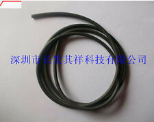 Nickel Plated Graphite Mixed Conductive Rubber EMC Shielding Strip OD=1mm #U6T5