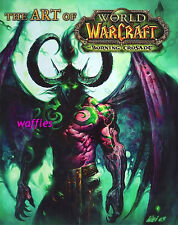 ART OF WORLD OF WARCRAFT - THE BURNING CRUSADE * First Ed/First Print  2006,HC