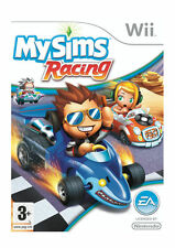"NINTENDO Wii GAME ""MY SIMS RACING""  INSTRUCTIONS INCLUDED ALL COMPLETE"