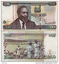 Kenya - 200 shillings - UNC currency note