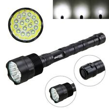 60000lm 16x  XM-L T6 tattico LED Flashlight Torcia militare Hunt Lampada 5 Modi