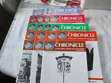"19 Issues of ""The Chronicle"" - 1989 to 1993 - Fine Cond."