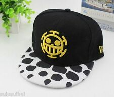Anime Men Women Cap One Piece Trafalgar Law Baseball Hat Adjustable Cosplay Cap