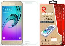 Raydenhy™ 2.5D Curved Edges 0.33MM Tempered Glass For Samsung Galaxy J3 Pro