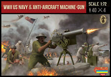 STRELETS US NAVY & ANTI-AIRCRAFT MACHINE-GUN TROOPS (WWII) - 1/72 Scale M112