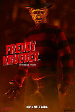 FREDDY KRUEGER Nightmare on Elm Street Sideshow/Hot Toys 1/6 Figure UK SHIP 2017
