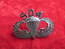 Vietnam 504th PIR Parachute Infantry Regiment Jump Wing 82nd Airborne