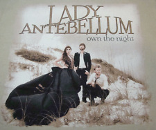Lady Antebellum Concert T-Shirt (S) Own The Night Tour w/Cities