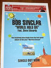 BOB SINCLAIR - AUSTRALIAN ARIA CHART  2006 AS NEW