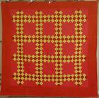 1890's Vintage PA Mennonite Triple Irish Chain Antique Quilt ~MINT CONDITION!