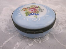 Limoges Castel  France Tooth Fairy Trinket Porcelain Pill Box Collectors