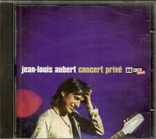 CD ALBUM LIVE 14 TITRES--JEAN LOUIS AUBERT--CONCERT PRIVE M6 1998