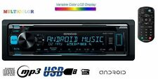 KENWOOD kdc-170y CD mp3 USB AUX 4#50w Vario color autoradio + TELECOMANDO