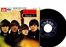 BEATLES EP PS Volume 1 France TOP RARE MOE 21001 French EXPORT NICE UNIQE COVER