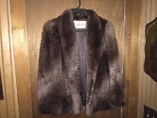 Szor-Diener Waist Length Fur Coat Size S-M ~ Excellent