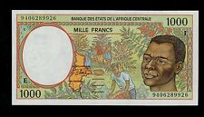 CENTRAL AFRICAN STATES 1000 FRANCS  1994 CAMEROUN PICK # 202Eb UNC-. BANKNOTE