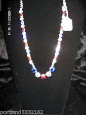 MEA Original, Las Vegas Necklace/W Multi. Swarovski Crystals,   D1