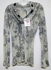 SPY ZONE EXCHANGE BOUTIQUE WOMENS TOP IN SMALL HANDCRAFTED CELEBRITY 3813