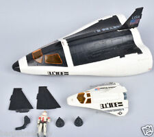 GI JOE CRUSADER SPACE SHUTTLE Vintage Action Figure Vehicle 1989