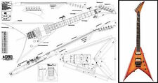 Jackson King V® Electric Guitar Plan