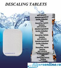 2 Descaler Tablets Bean to Cup Coffee  Machine Jura Bosch Siemens Krups AEG