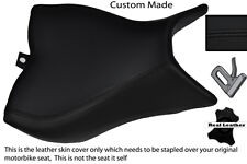 BLACK STITCH CUSTOM FITS HONDA CB 1000 R 08-13 FRONT RIDER LEATHER SEAT COVER