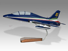 Aermacchi MB-339 APAN PAN Italian Air Force Frecce Tricolori Airplane Model