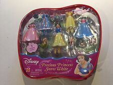 2004 Disney Precious Princess Fashions Snow White 5 Complete Outfits