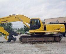 Komatsu PC 400-6 & PC450-6 Excavator Workshop Manual