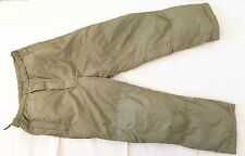 British Army-Issue Light-Olive PCS Thermal Trousers. Large.