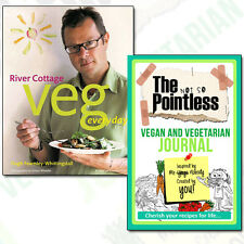 River Cottage Veg Every Day! Collection Vegan and Vegetarian Journal 2 Books Set