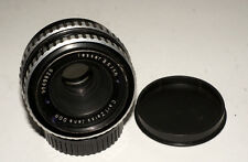 Carl Zeiss Jena Tessar lens 2.8/50 mm Zebra M42 screw mount Canon adaptable