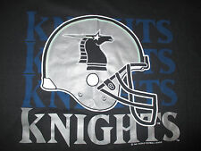 Rare 1991 NEW YORK / NEW JERSEY KNIGHTS - WORLD FOOTBALL LEAGUE (XL) T-Shirt